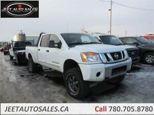 2012 Nissan Titan SV with 6 inch Lift 5.6L Gas