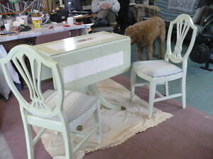 Nice Table & Two Chairs