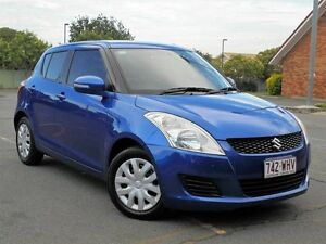 2011 Suzuki Swift FZ GL Blue 5 Speed Manual Hatchback Chermside Brisbane North East Preview