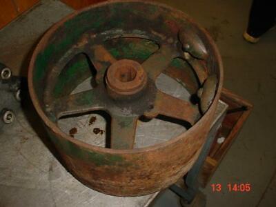 Rare Oliver 55-60-44 Tractor Flat Belt Pulley Super 55-super 44-60