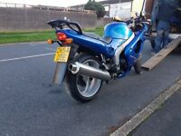 Triumph Sprint i955 Blue Mint Condition New MOT