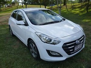 2015 Hyundai i30 GD4 Series II MY16 Active X White 6 Speed Sports Automatic Hatchback Maryborough Fraser Coast Preview