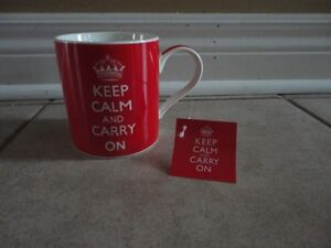Brand new with tags Keep calm and carry on coffee mug London Ontario image 1