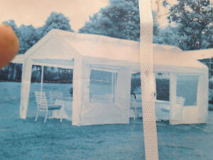 New 10x20 party tent great for weddings or outdoor events