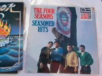 Vinyl LP Seasoned Hits – The Four Seasons Fontana FJL 952 Stereo 1967