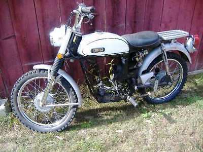 Yamaha L5 rolling chasis for parts 2K carb 1969 L5T early