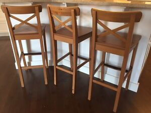 Bar stools - 3 for $150