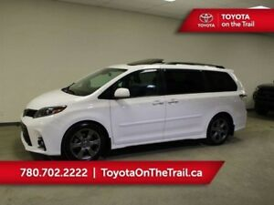 2018 Toyota Sienna SE TECH *DEMO* LEATHER STARTER 3M DOORVISORS