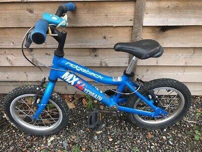 Ridgeback Size 14 Boys Bike - Blue