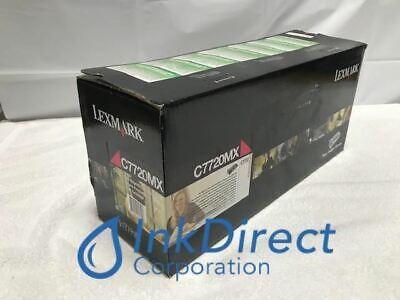 Genuine Lexmark C7720MX Return Program  Print Cartridge Magenta C770N CN772DN (Return Program Magenta Print)