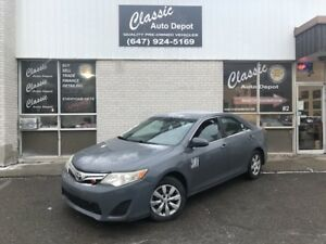 2012 TOYOTA CAMRY LE **LEATHER**PREVIOUS TAXI**4 CYLINDER**