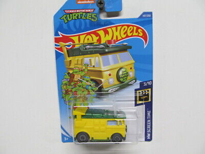 Hot Wheels TEENAGE MUTANT NINJA TURTLES - New PARTY WAGON