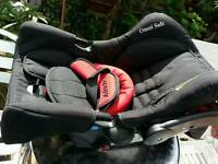 Baby car seat as new condition