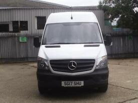 Mercedes-Benz Sprinter 314 LWB VAN EURO 6 High Roof DIESEL MANUAL WHITE (2017)