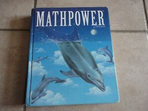 Mathpower 7 hardcover textbook excellent condition