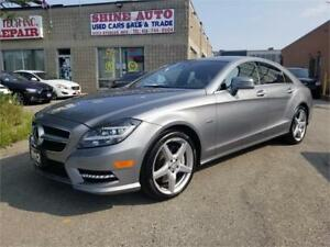 2012 Mercedes-Benz CLS NIGHT VISION-ADAPTIVE CRUISE-MASSAGE SEAT