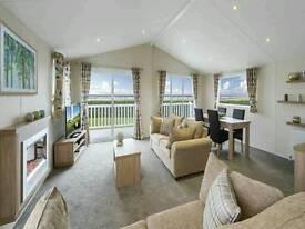 Amazing twin lodge static caravan for sale in beautiful Ayrshire