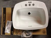 NEW American Standard Yorkdale Countertop Sink White