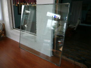 "Glass window 6' x 5 1/2', 1"" thick"