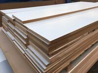 6 foot long MDF Panel ideal for loft floor or shelving - 11 inches wide - 22mm THICK
