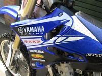 YAMAHA YZ125 2007 MX MOTO CROSS OFF ROAD BIKE