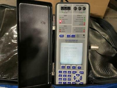 Electrodata St T1 Ds3 Sts-1 Ez-tester Handheld Test Set Pulled From Field