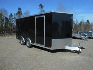 8 1/2 x 16 HD Cargo Trailer 2 x 5200 lb axles