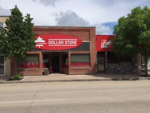 Spacious Retail Storefront Building for Sale in Swan River, MB