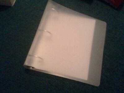12 Count Three Ring Binders - 1-12 Inch Clear