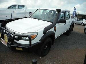 2009 Ford Ranger PK XL Crew Cab White 5 Speed Automatic Utility Winnellie Darwin City Preview
