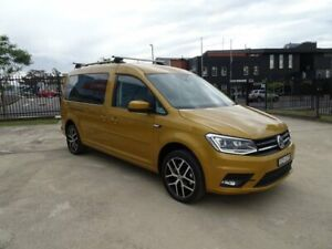 2018 Volkswagen Caddy 2K MY19 TSI220 LWB DSG Beach Sandstorm Yellow 7 Speed Nowra Nowra-Bomaderry Preview