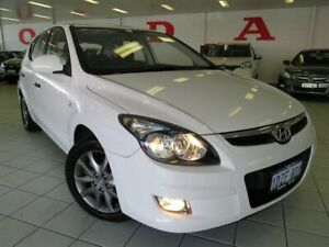 2012 Hyundai i30 FD MY12 SX White 4 Speed Automatic Hatchback Osborne Park Stirling Area Preview