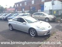 2002 (02 Reg) Toyota Celica 1.8 VVTI 2DR Coupe SILVER + LOW MILES