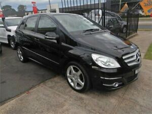 2011 Mercedes-Benz B200 245 MY11 Black Continuous Variable Hatchback