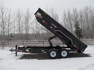 BLOW OUT !!  16' EXCURSION DUMP TRAILER Prince George British Columbia image 5