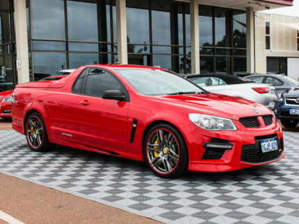 2014 Holden Special Vehicles Maloo GEN-F MY15 GTS Red 6 Speed Sports Automatic Utility
