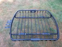 Car roof basket. Fits most roof racks. Excellent condition. Ideal camping etc.