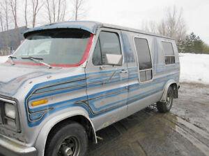 1980 Ford E-150 Minivan, Van