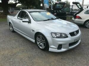 2011 Holden Ute VE II SV6 Silver 6 Speed Manual Utility