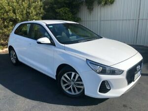 2017 Hyundai i30 PD MY18 Active White 6 Speed Sports Automatic Hatchback Devonport Devonport Area Preview