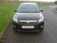 Ford Focus 2.0 ( 145ps ) 2009.5MY Zetec S ONLY 63500 Mls Mot 14/7/17 3 Dr Black