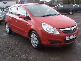 VAUXHALL CORSA 1.4 CLUB 5 DR RED MOT 19/5/19 CLICK ON VIDEO LINK TO SEE AND HEAR MORE DETAILS OF CAR