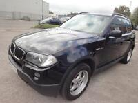 LHD 2008 BMW X3 2.0 Diesel 6 Speed Manual 4x4 5Door. SPANISH REGISTERED