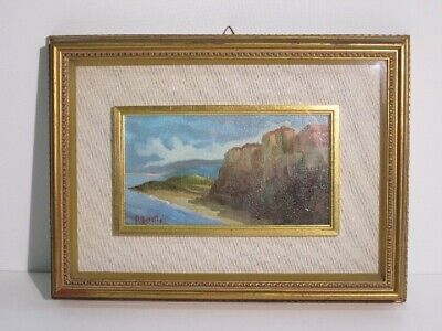 Renato Beretta Painter Painting Oil Original Signed Period Xx Century