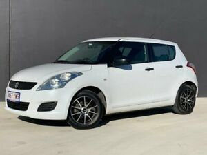 2013 Suzuki Swift FZ GA White 4 Speed Automatic Hatchback Eagle Farm Brisbane North East Preview