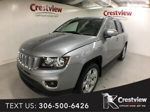 2015 Jeep Compass High Altitude 4x4 w/ Leather, Sunroof