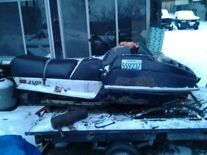 1982 skidoo citation 377 4500E with ownership