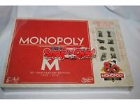 Monopoly 80th Anniversary edition new and shrink wrapped