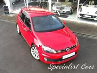 VOLKSWAGEN GOLF 2.0 GTD TDI 5d 170 BHP WATCH FULL HD VIDEO OF THIS (red) 2010