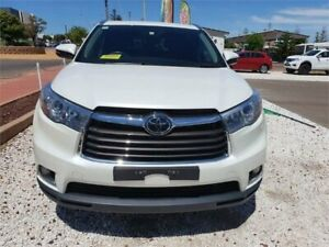 2015 Toyota Kluger GSU55R Grande White Sports Automatic Wagon Whyalla Whyalla Area Preview